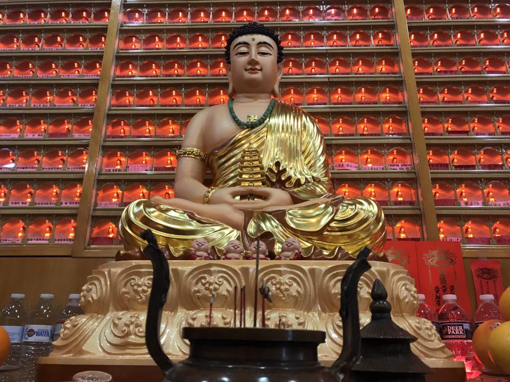 Bhaiṣajyaguru (Medicine Buddha) detail